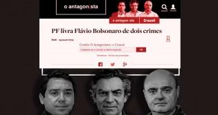 A falsa narrativa de que a Polícia Federal está passando pano para Flávio (veja o vídeo)
