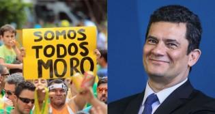 Enquanto imprensa tenta criar intrigas no governo, Moro comemora aumento de popularidade