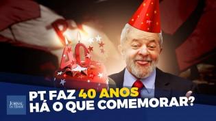 O aniversário do partido mais corrupto da história do Brasil (veja o vídeo)