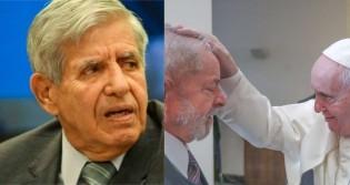 """Heleno ironiza encontro entre Papa e Lula: """"Confraternizar com um criminoso é um exemplo de solidariedade a malfeitores"""""""
