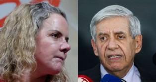 Gleisi sai em defesa de Lula, tenta 'lacrar' em cima de Heleno e passa vergonha na internet
