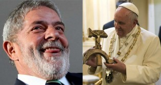 Papa, Lula, Fé e Política (veja o vídeo)