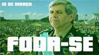 O grito engasgado na garganta do povo brasileiro foi solto pelo General Heleno
