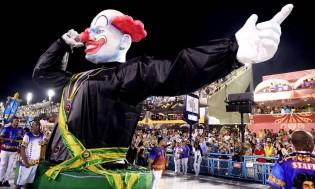 O dinheiro roubado do erário bancando escolas de samba