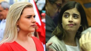 """Bafafá na esquerda: Marília Arraes e Tabata brigam por projeto que trata de absorventes, """"MenstruaBR ou ChicoBras?"""", questiona ministro"""