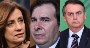 Em entrevista a Miriam Leitão, Maia fala sobre possibilidade de impeachment de Bolsonaro (veja o vídeo)