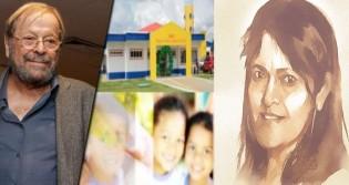 """A promessa de Carlos Vereza: """"Vou fazer um documentário sobre a professora Heley"""""""