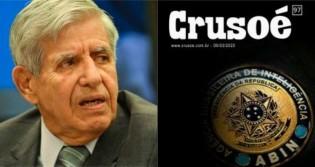 """Heleno detona fake news da revista Crusoé: """"Calúnia de repórter vagabundo"""""""