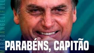 Parabéns, capitão! (veja o vídeo)