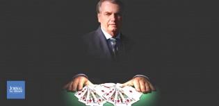 Bolsonaro põe as cartas na mesa e dobra a aposta