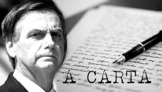 """Em """"Carta Aberta"""" a Bolsonaro, jornalista dá o caminho para o isolamento vertical"""