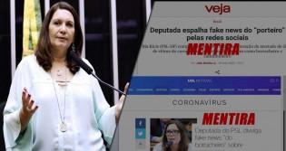 Bia Kicis prova que a história do borracheiro é verdadeira e desmoraliza UOL e Revista Veja (veja o vídeo)