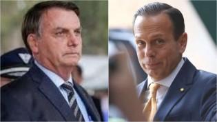 Após afagos entre Lula e Dória, Bolsonaro, em 5 linhas e sem citar nomes, desmoraliza o governador traidor