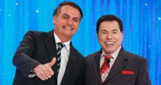"""Sílvio Santos reitera apoio a Bolsonaro: """"Jamais me colocaria contra"""""""