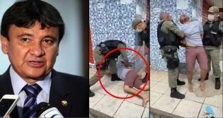 """PM do """"Pequeno Ditador do Piauí"""" algema e prende comerciante (veja o vídeo)"""