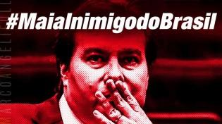 Bolsonaro e o xadrez político: O xeque-mate na quadrilha do reizinho Maia