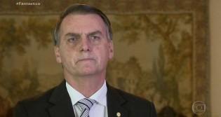 Fantástico faz reportagem oportunista e Bolsonaro rebate acusações (veja o vídeo)