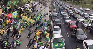 MEGAS Carreatas semanais viram rotina em Brasília (veja o vídeo)