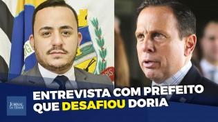 Entrevista com o prefeito de Mirandópolis, o homem que desafiou o autoritarismo de João Doria (veja o vídeo)