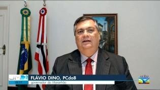 """Governadores """"insanos"""" iniciam recuo e Flavio Dino já vê """"sinal positivo"""" em reunião com Bolsonaro"""