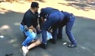 Em mais uma aberração, mulher humilhada e algemada em Araraquara virá ré perante a Justiça (veja o vídeo)