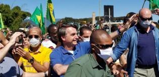 AO VIVO: Em chegada apoteótica de helicóptero na Praça dos Três Poderes, Bolsonaro consolida sua popularidade (veja o vídeo)
