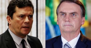 """Bolsonaro sobre Moro: """"Covarde, graças a Deus ficamos livre dele"""" (veja o vídeo)"""