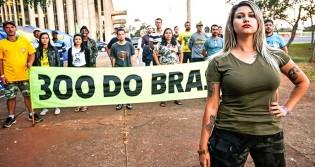 O Regime Democrático já foi rompido e não foi por Sara Winter ou pelos 300 do Brasil