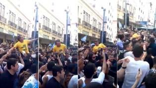 """Bolsonaro: o """"mártir vivo"""" do Brasil"""