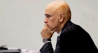 """Moraes entrou num """"buraco"""" e não encontra meios de sair de dentro dele (veja o vídeo)"""