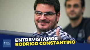 """""""Em nome da esquerda você pode roubar, matar, sequestrar, invadir, depredar..."""", diz Rodrigo Constantino"""