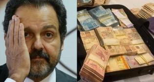 Em operação no DF, ex-ministro de Lula é preso por posse ilegal de arma e mala de dinheiro é encontrada