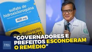 Esconder o remédio que combate o vírus é crime contra a humanidade, denuncia Dr. Wong (veja o vídeo)