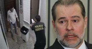 Conselheiro que jogou cheques no lixo, ganha prisão domiciliar de Toffoli (veja o vídeo)