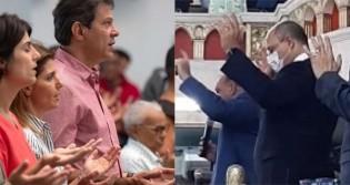 "Desespero ""Haddadiano"": Witzel vai a culto para tentar se livrar de impeachment"