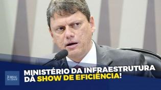 """""""Sem Tempo, irmão!""""  Ministro da Infraestrutura entrega obras até durante a pandemia! (veja o vídeo)"""
