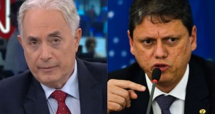 Na CNN, Waack tenta colocar Tarcísio em 'saia justa' e é surpreendido com a resposta e a fidelidade a Bolsonaro (veja o vídeo)