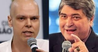 Datena cancela participação em programa de rádio e deve ser vice de Covas