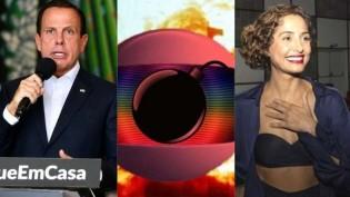 """A Covid-19 de Dória, a malária de Pitanga e a """"Bomba"""" da Rede Globo: A perseguição supera a coerência..."""