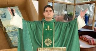 O padre e as investigações de desvio de R$120 milhões dos fiéis da igreja