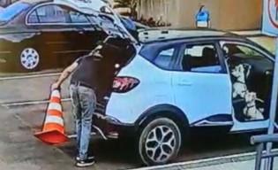 O flagrante da câmera filmando ex-ministro petista no exato momento do crime (veja o vídeo)
