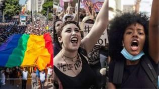 A flagrante hipocrisia dos movimentos feminista, LGBT e antirracismo