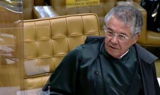 """O discurso de Marco Aurélio, a deferência à trajetória de Fux e o """"mata-leão"""" em Dias Toffoli (veja o vídeo)"""