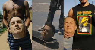 A vida diante da ditadura socialista: Cabeça decapitada do presidente Bolsonaro utilizada como bola de futebol