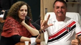 """A """"pedra na bexiga"""" dos esquerdopatas! A """"bola da vez"""" é a comunista de iPhone Jandira Feghali"""