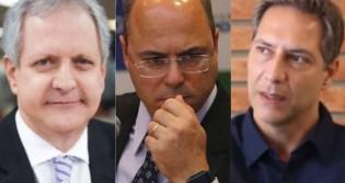 """Diante de Augusto Nunes e Lacombe, Witzel """"confessa"""" que houve corrupção (veja o vídeo)"""