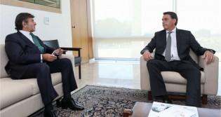 A portas fechadas, Fux e Bolsonaro fazem o primeiro encontro