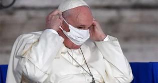 A queda da máscara de Bergoglio