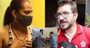 Mulheres petistas saem em defesa de agressor e atacam candidata agredida (veja o vídeo)
