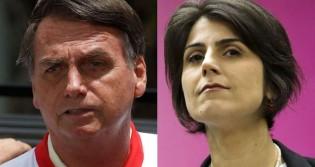 """Bolsonaro faz apelo a Poa sobre Manuela: """"Uma desgraça! Pensem nas consequências"""" (veja o vídeo)"""